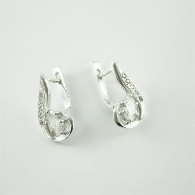 Серебряные серьги (4418)