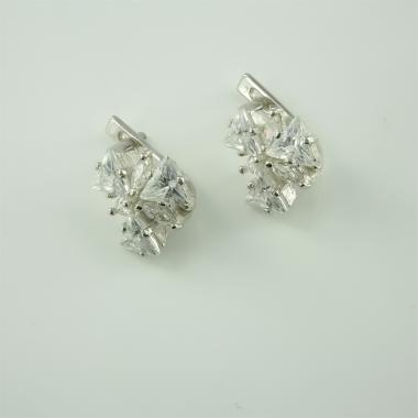 Срібні сережки(4421)
