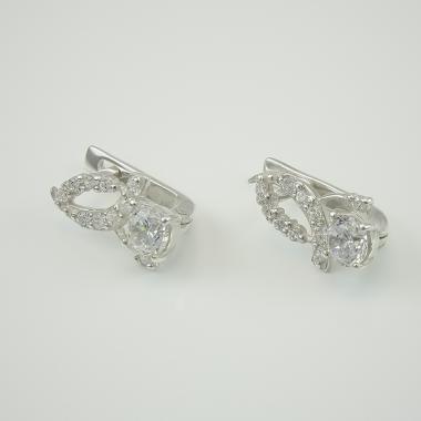 Серебряные серьги (4423)