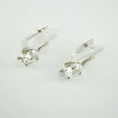 Срібні сережки (4433)