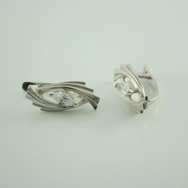 Срібні сережки  (4437)