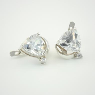 Срібні сережки (4468)