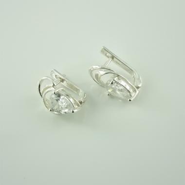 Серебряные серьги  (4471)