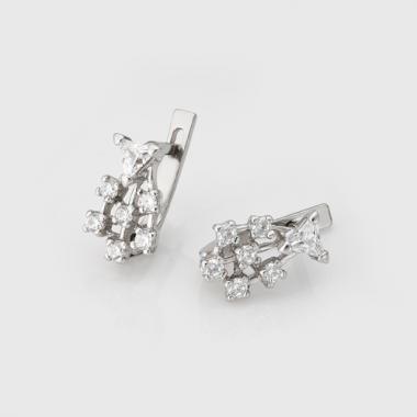 Серебряные серьги (4481)