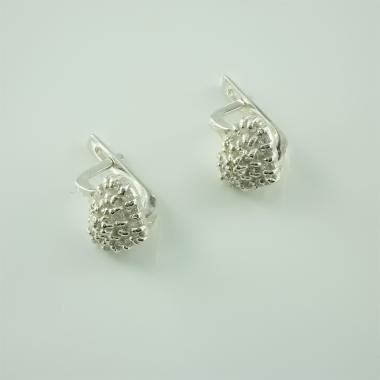 Срібні сережки (4493)