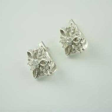 Срібні сережки (4504)