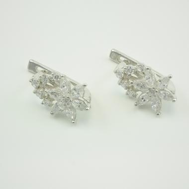 Срібні сережки (4505)