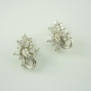 Срібні сережки (4508)