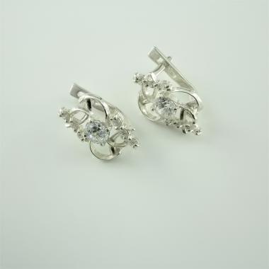 Срібні сережки  (4515)