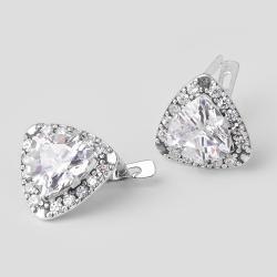 Срібні сережки (4518)