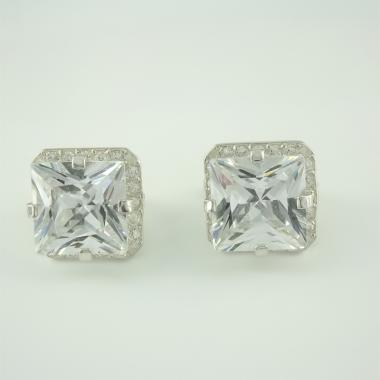 Серебряные серьги  (4520)