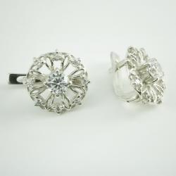 Сережки (4523) зі срібла