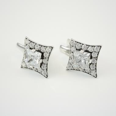 Срібні сережки  (4526)