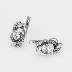Срібні сережки  (4528)