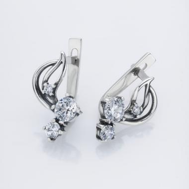 Срібні сережки (4532)