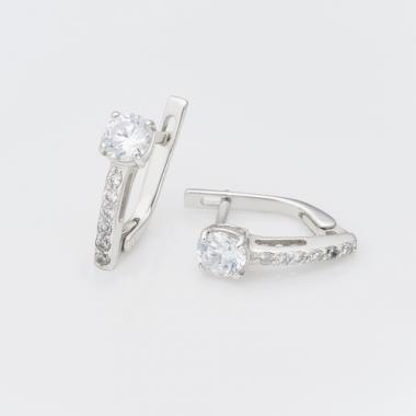 Срібні сережки (4571)