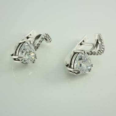 Срібні сережки (4574)
