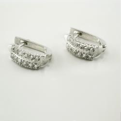 Серебряные серьги (4580)
