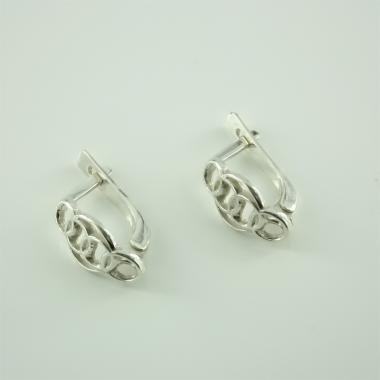 Срібні сережки (4590)