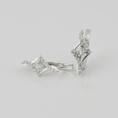 Серебряные серьги (4611)