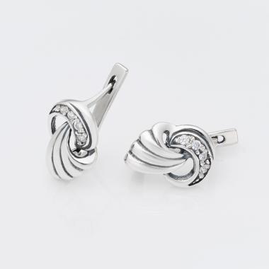 Серебряные серьги (4630)