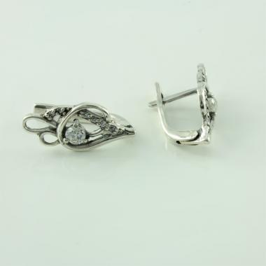 Срібні сережки (4632)