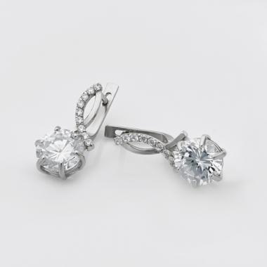 Срібні сережки (4664)