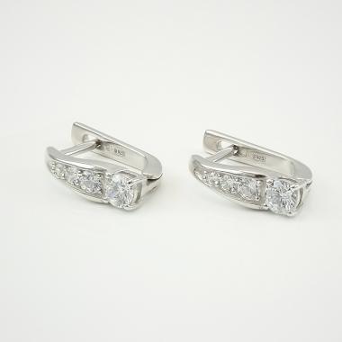 Срібні сережки (4668)