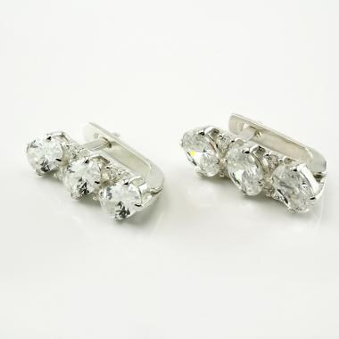 Срібні сережки (4673)