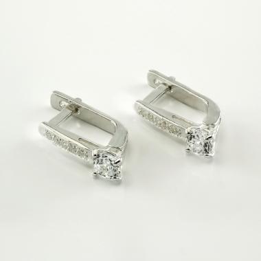 Срібні сережки (4674)