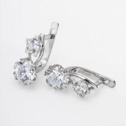 Серьги серебряные (4675)