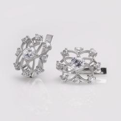 Срібні сережки (4676)