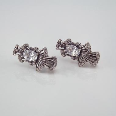Серебряные серьги (4678)