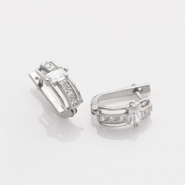 Серебряные серьги (4687)