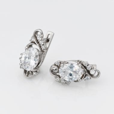 Серебряные серьги (4688)
