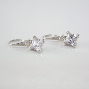 Срібні сережки(4690)