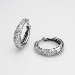 Срібні сережки(4712)