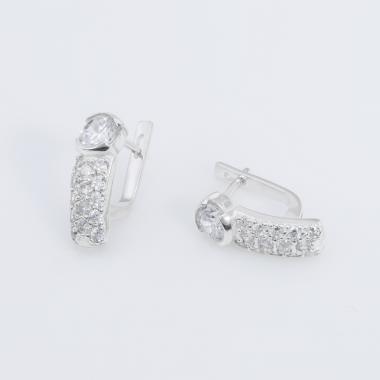 Серебряные серьги (4714)