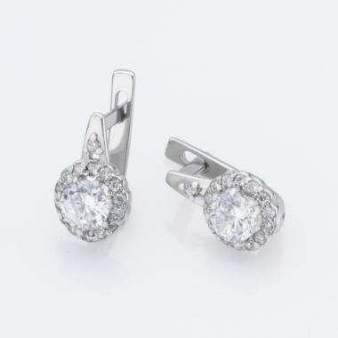 Срібні сережки (4717)