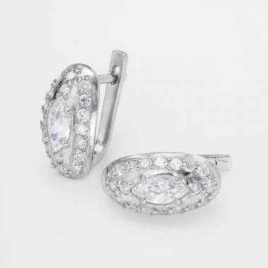 Серебряные серьги (4732)