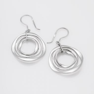 Срібні сережки (4733)