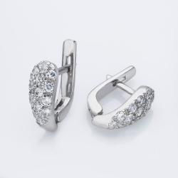 Серебряные серьги (4736)