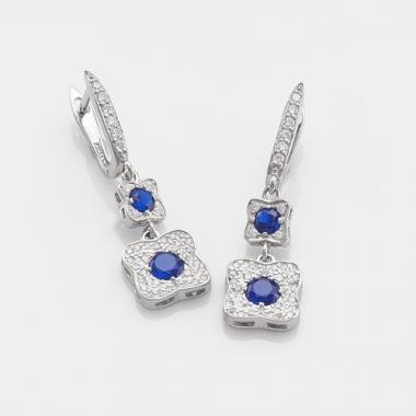 Срібні сережки (4741)