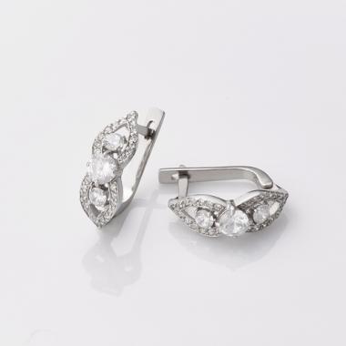 Срібні сережки (4744)