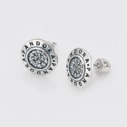 Срібні сережки-гвоздики (4745)