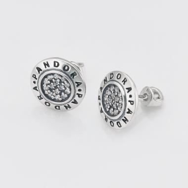 Серебряные серьги-гвоздики (4745)