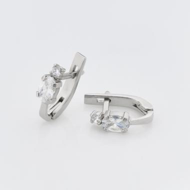 Срібні сережки дитячі  (4777)