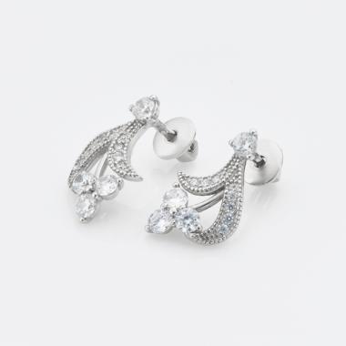 Серебряные серьги-гвоздики (4787)