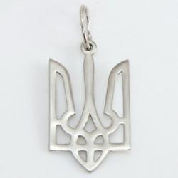 """Срібний кулон """"Тризуб"""" (7056)"""