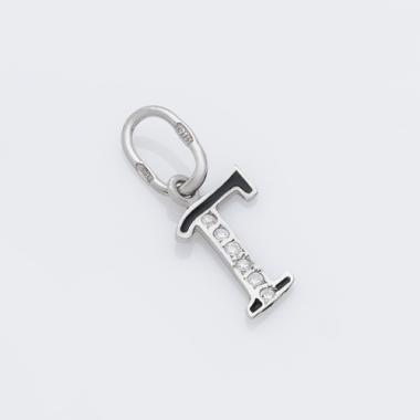 Срібний кулон-літера Г (7057г)